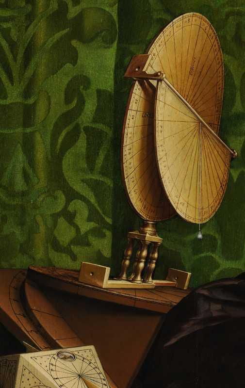 Les Cadrans Solaires Des Ambassadeurs De Holbein